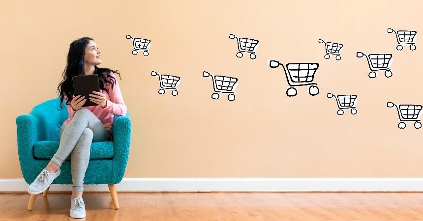Online einkaufen ist aktuell eine gute Alternative.