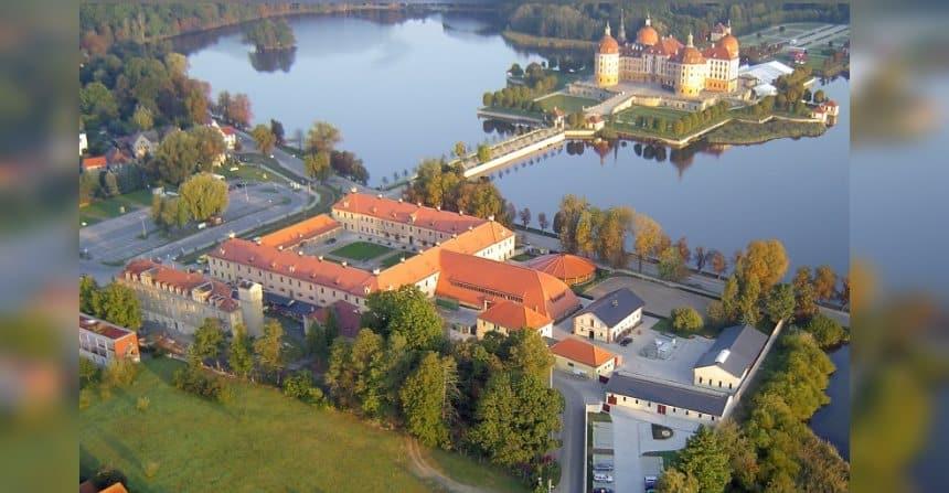 Das Landesgestüt Moritzburg ist auch für Touristen ein beliebtes Ausflugsziel.